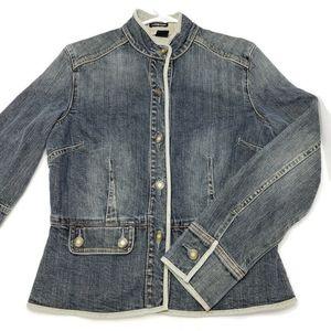 Gap stretch jean jacket, size S, 98% cotton, 2% sp
